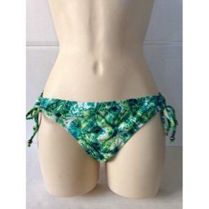 NWT Hurley Blue Tie Side Hipsters Bikini #190